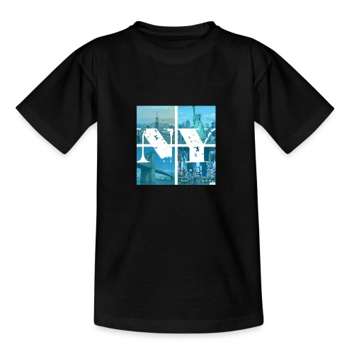 NEW YORK BLUE - Teenager T-Shirt