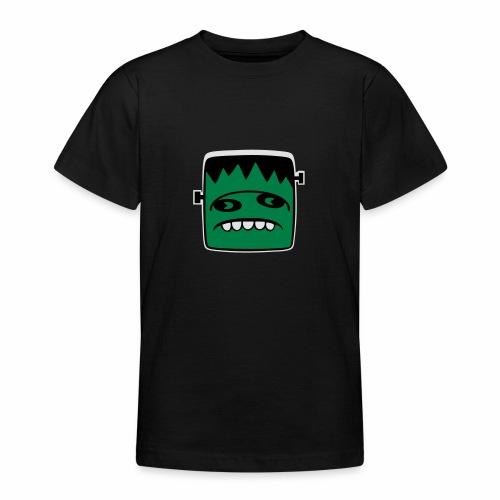 Fonster Weisser Rand ohne Text - Teenager T-Shirt