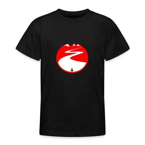 Montagne rouge - T-shirt Ado