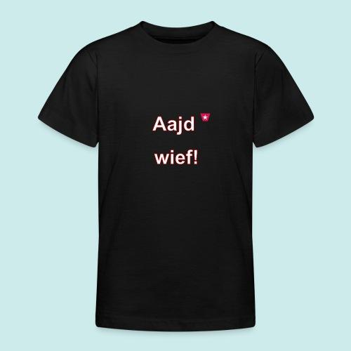 Aajd wief def w verti - Teenager T-shirt