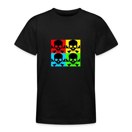 Art Skull - Teenage T-Shirt