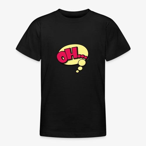 Serie Animados - Camiseta adolescente