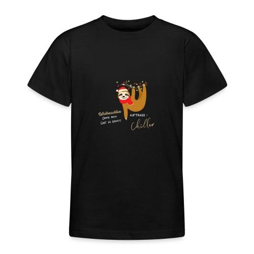 Weihnachten ohne mich gibt es nicht Design - Teenager T-Shirt