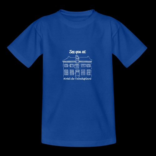See you at Hotel de Tabaksplant WIT - Teenager T-shirt