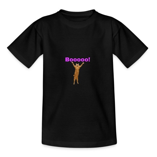 Cat scared - Teenage T-Shirt