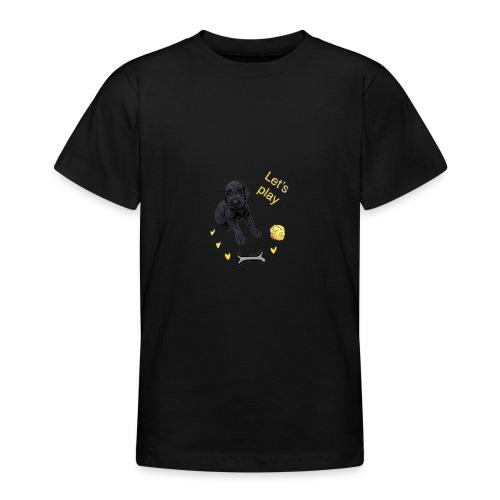 Giant Schnauzer puppy - Teenage T-Shirt