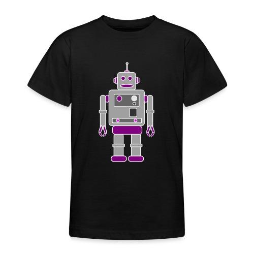Retro Robot - Teenage T-Shirt