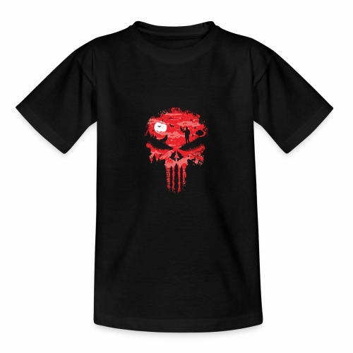 Night Skull - Nuorten t-paita