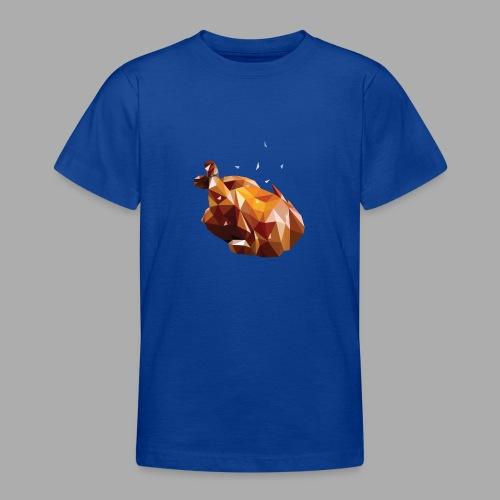 Turkey polyart - Teenage T-Shirt