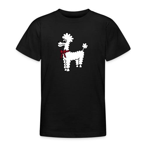 Pudelschaf - Teenager T-Shirt