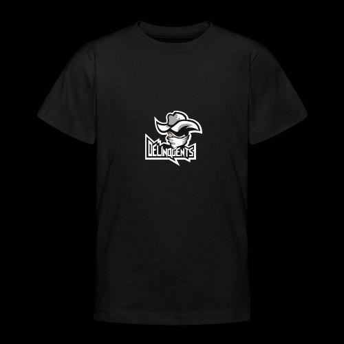 Delinquents Sort Design - Teenager-T-shirt
