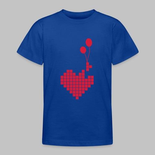 heart and balloons - Teenage T-Shirt