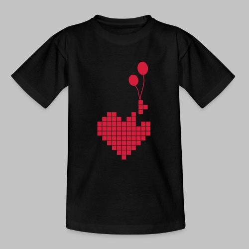 heart and balloons - Teenage T-Shirt