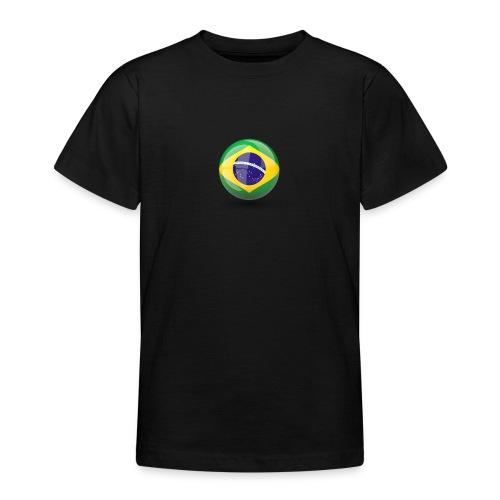 Símbolo da Bandeira do Brasil - Teenage T-Shirt