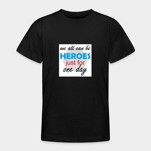 GHB Jeder kann ein Held sein 190320182w - Teenager T-Shirt