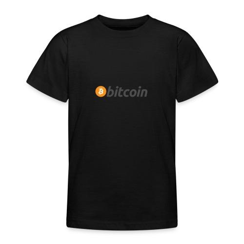 bitcoin - Teenager T-shirt