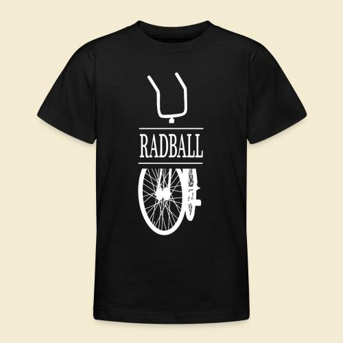 Radball | Retro White - Teenager T-Shirt