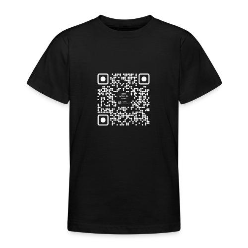 QR The New Internet Should not Be Blockchain Based W - Teenage T-Shirt