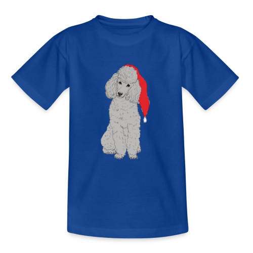 Poodle toy G - christmas - Teenager-T-shirt