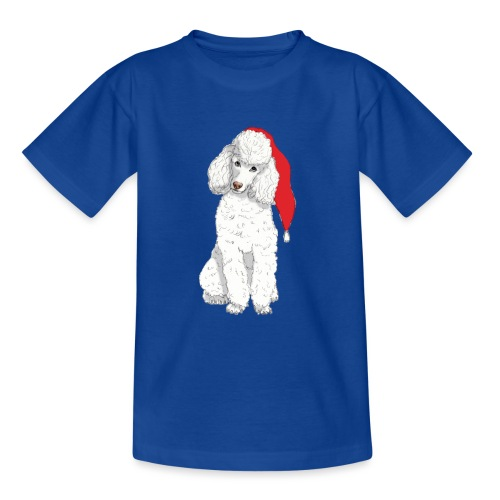 Poodle toy W - christmas - Teenager-T-shirt