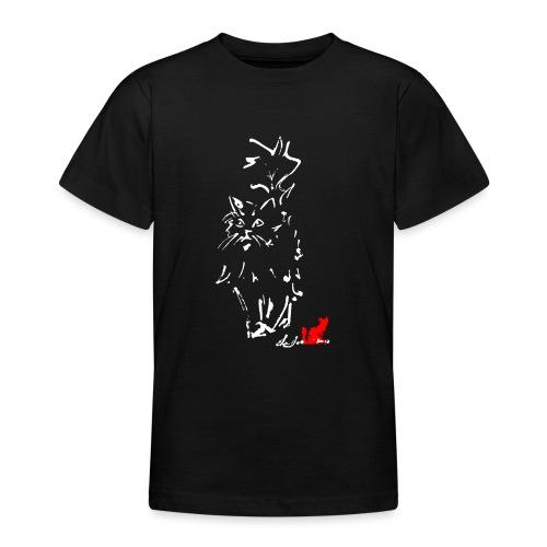 GATTO A PELO LUNGO - Maglietta per ragazzi