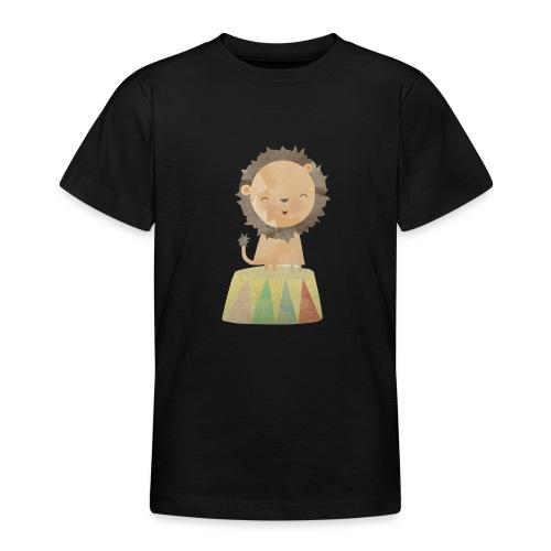 Zirkuslöwe - Teenager T-Shirt