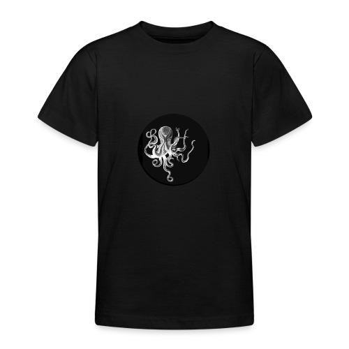 OCTOPUS black - Maglietta per ragazzi