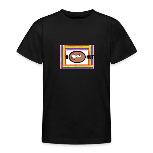 Rainbow Donut - Teenage T-Shirt