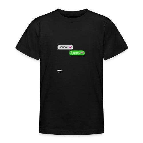 coucou mon coeur - T-shirt Ado