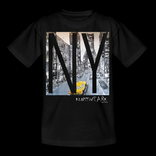 TIME SQUARE - Teenager T-Shirt