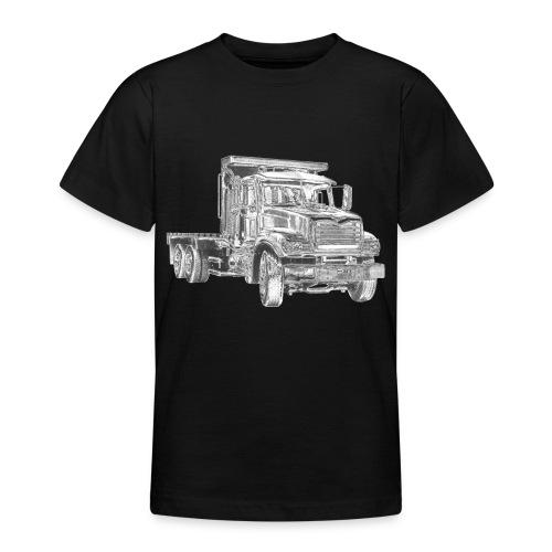 Flatbed Truck 3-axle - Teenage T-Shirt
