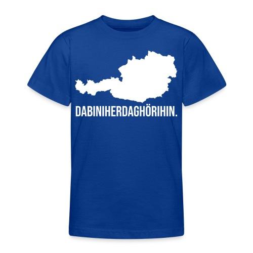 Heimat Österreich Austria - Teenager T-Shirt