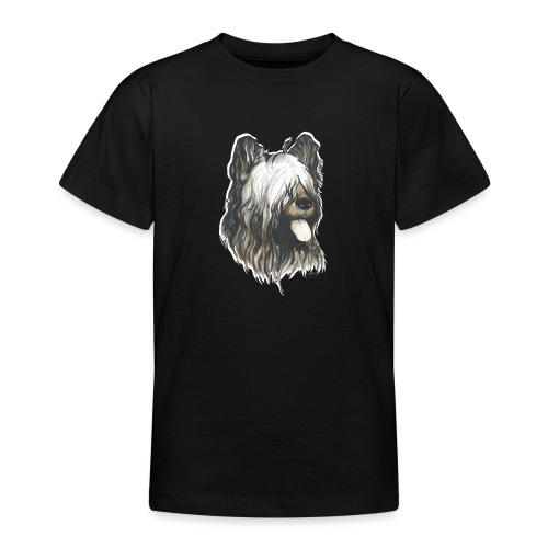 BRIARD Chien - T-shirt Ado