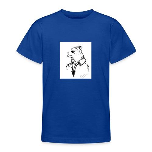 InkedThe Dog style bak LI - Camiseta adolescente