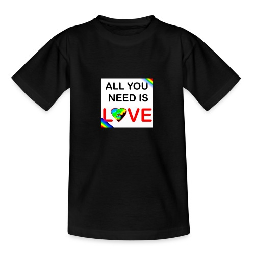 all you need is peace and love - T-shirt Ado
