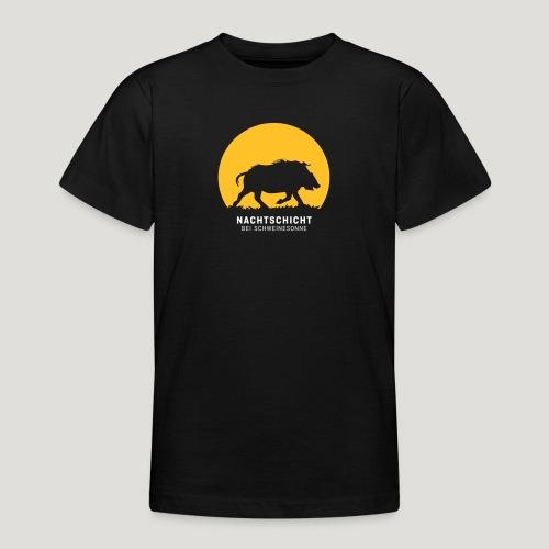Nachtschicht bei Schweinesonne! Jäger Shirt Jaeger - Teenager T-Shirt