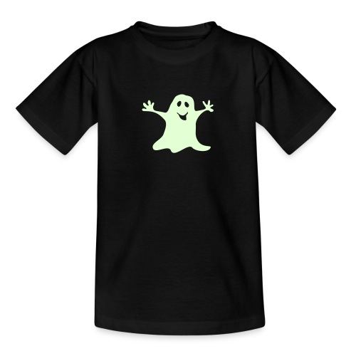 Gespenst einfarbig Halloween T-shirt - Teenager T-Shirt