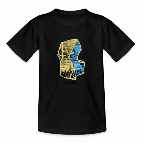 ART ROCK No 4 colour - Teenager T-shirt