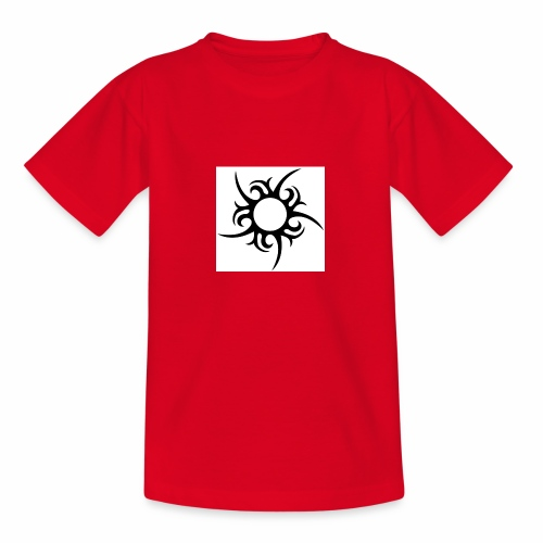 tribal sun - Teenage T-Shirt