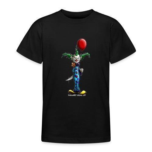 klaun tee - T-shirt tonåring