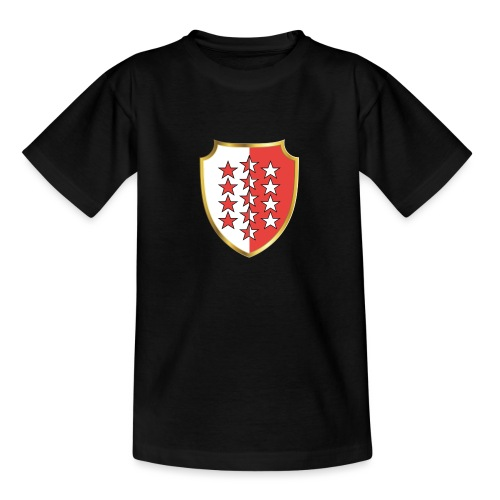 Valais Wallis Gold Or - Teenager T-Shirt