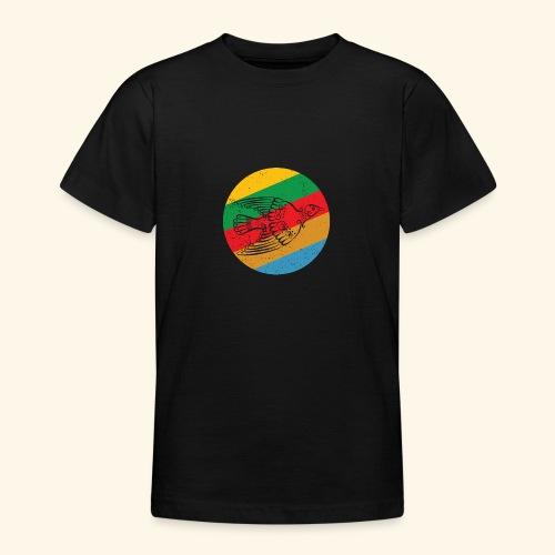 Grenadian Dove Retro - Teenage T-Shirt