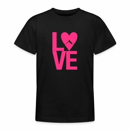 Mountain Love - Teenager T-Shirt
