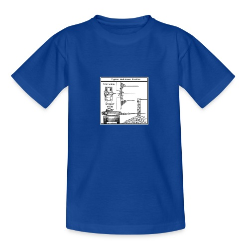 W.O.T War tactic, tank shot - Teenage T-Shirt