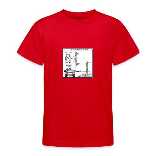 W.O.T War tactic, tank shot - Teenage T-Shirt