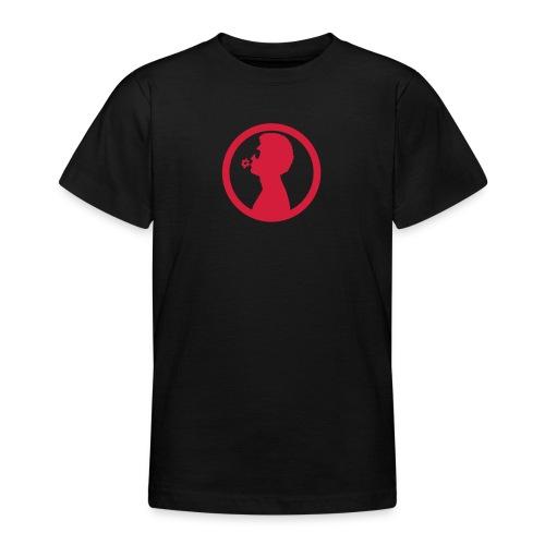William White Flower logo - Teenage T-Shirt