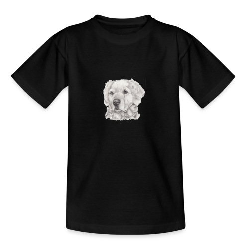 golden retriever - Teenager-T-shirt