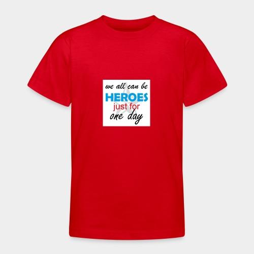 GHB Jeder kann ein Held sein 190320183w - Teenager T-Shirt