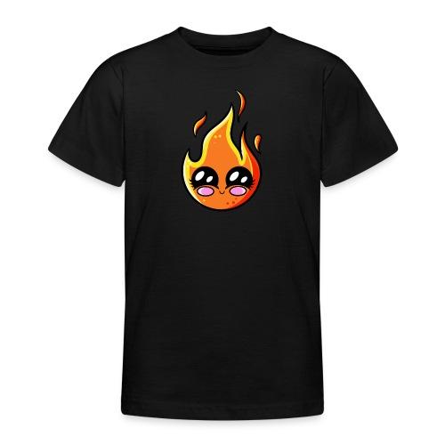 Kawaii Fire - T-shirt Ado
