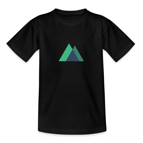 Mountain Logo - Teenage T-Shirt